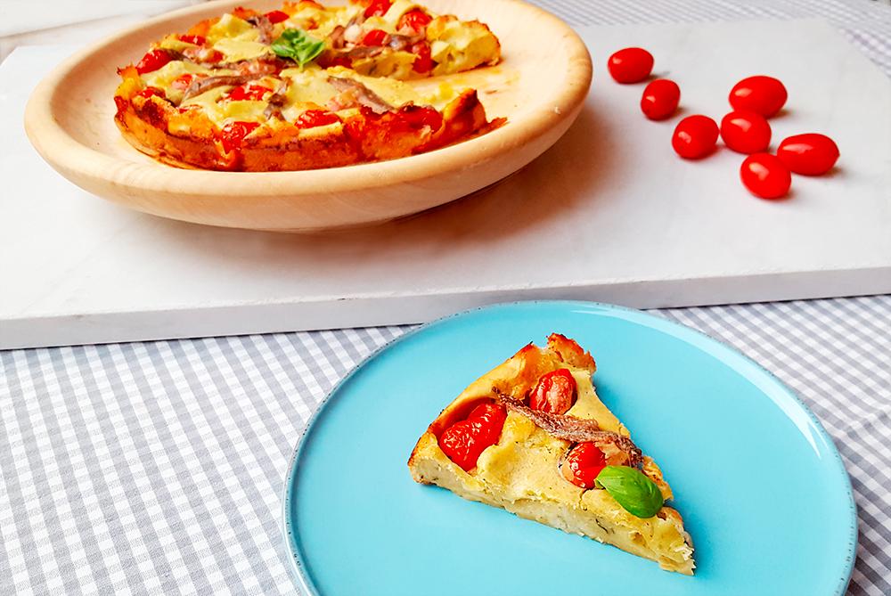 Pizza-Clafoutis-mozzarella-acciughe-e-basilico-02