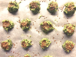 Polpette di spinaci e ceci